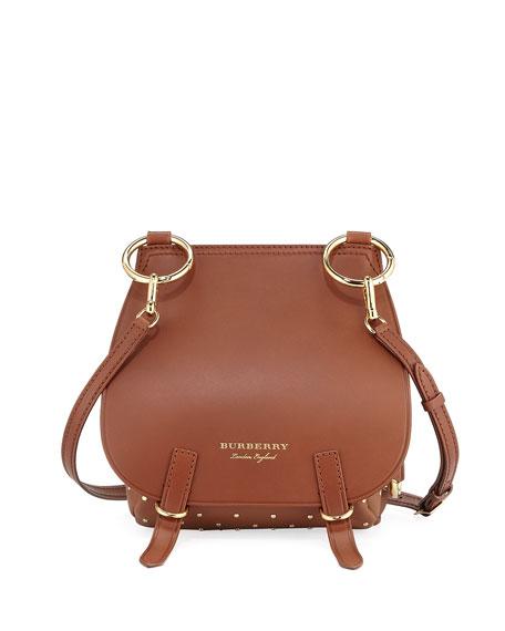 Burberry Bridle Baby Velvet & Snakeskin Shoulder Bag,