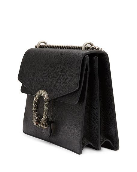 Gucci Dionysus Medium Leather Shoulder Bag, Black