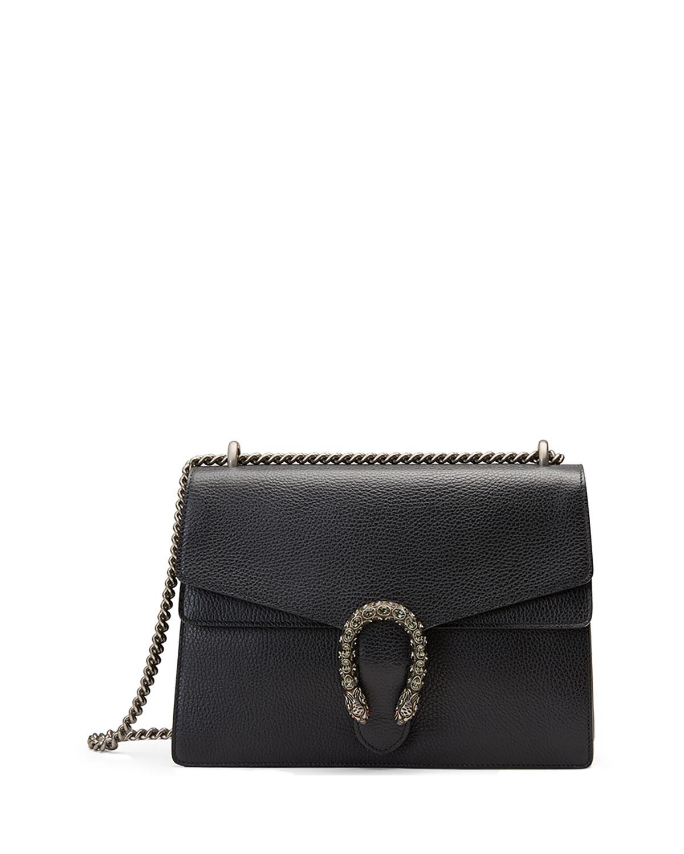 b493c17fd558 Gucci Dionysus Medium Leather Shoulder Bag