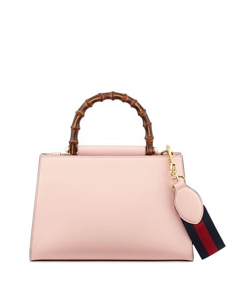 Gucci Nymphea Small Bamboo-Handle Tote Bag 9M6q3GrxQ