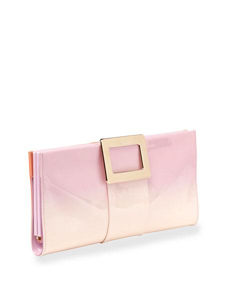 Belle Vivier Patent Leather Clutch Bag