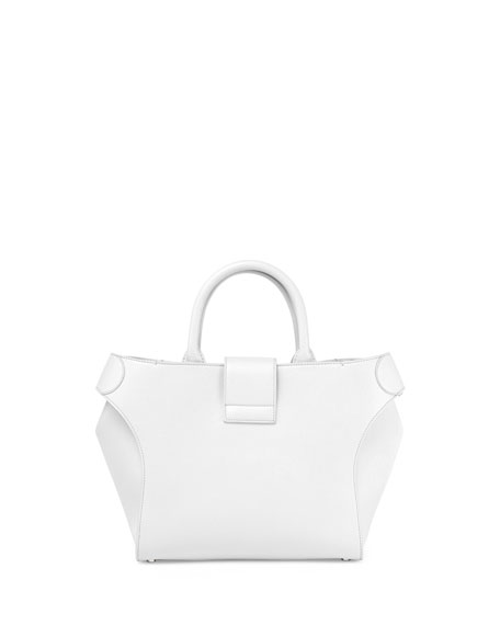 Pilgrim de Jour Small Tote Bag, White