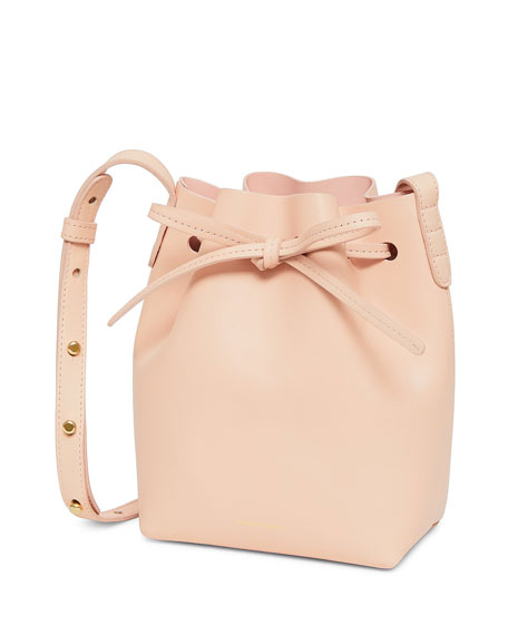 Mansur Gavriel Calf Leather Mini Bucket Bag