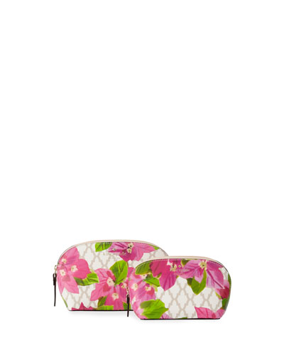 bayard place abalene cosmetic bag set, multi