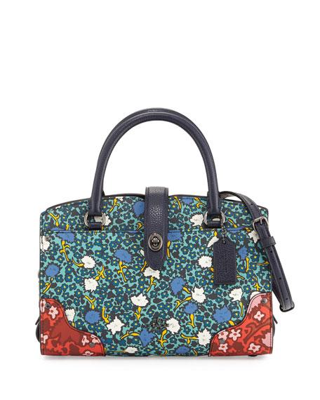 Coach Mercer 24 Floral Satchel Bag, Multi