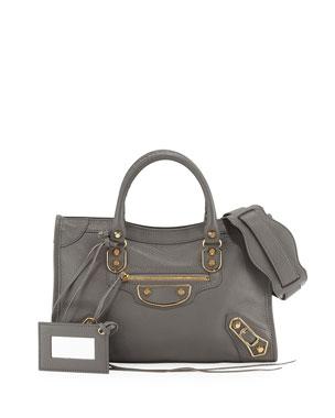 Balenciaga Classic Metallic Edge City Small Tote Bag 1ca7ecb643cb6