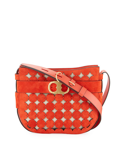Gemini Link Cutout Small Shoulder Bag
