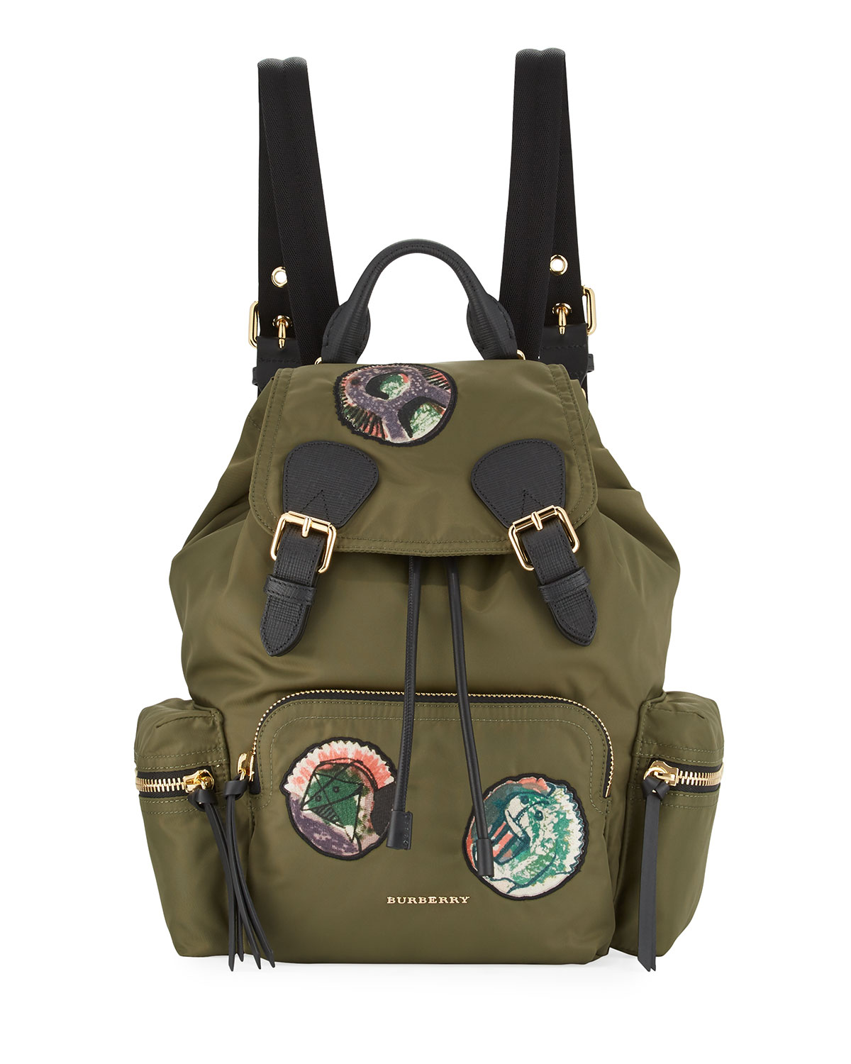 Burberry Prorsum Nylon Patches Backpack 598b7cc1f4664