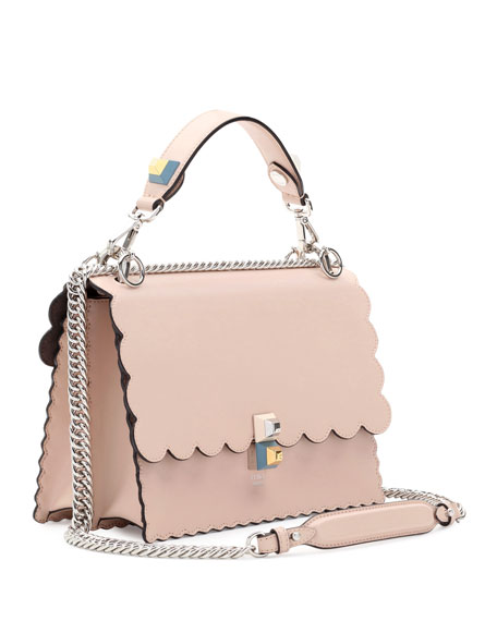 Fendi Kan pink leather shoulder bag mGfgXqA2a