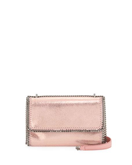 Falabella Shiny Chain-Trim Crossbody Bag
