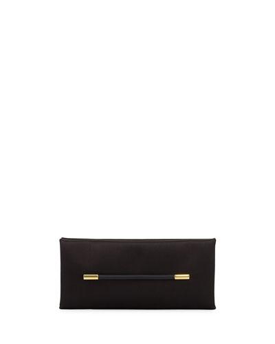 Satin Bar Clutch Bag
