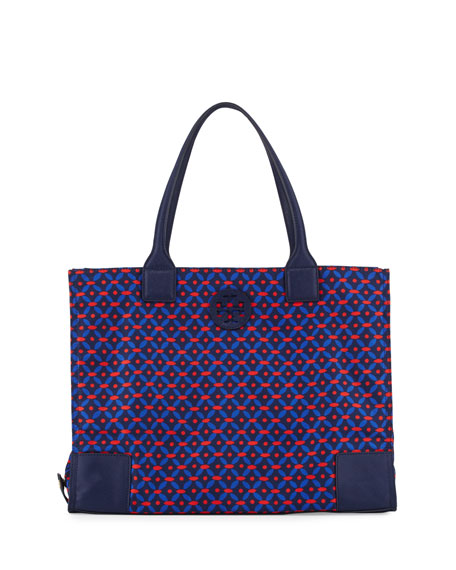 Tory Burch Ella Printed Packable Tote Bag