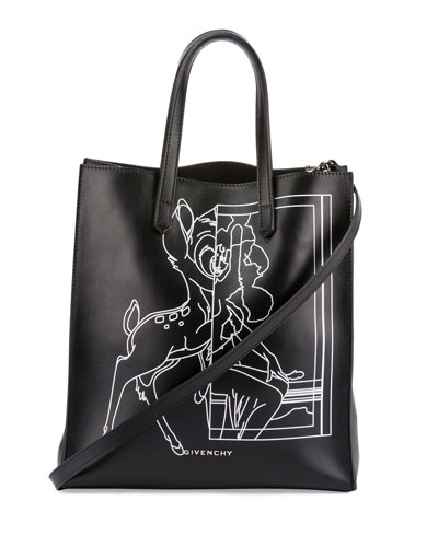 Stargate Bambi® Medium Shopper Tote Bag, Black
