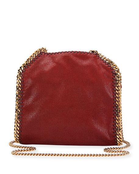 Falabella Mini Tote Bag, Ruby