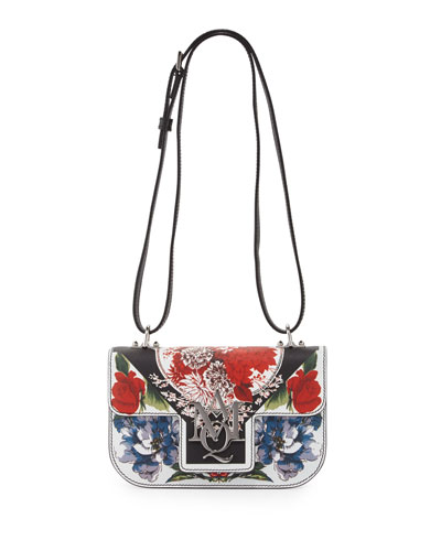 Insignia Printed Flap Crossbody Bag, Multi
