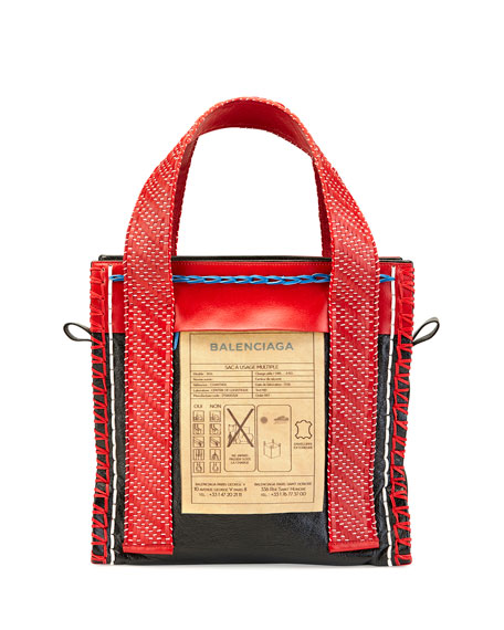 Scaffold Leather Tote Bag