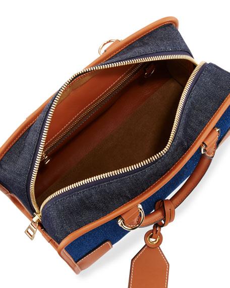 Amazona 28 Denim Satchel Bag