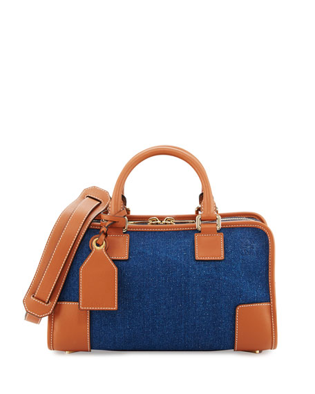 Amazona 28 Denim Satchel Bag