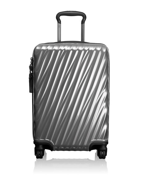 Silver International Carry-On Luggage