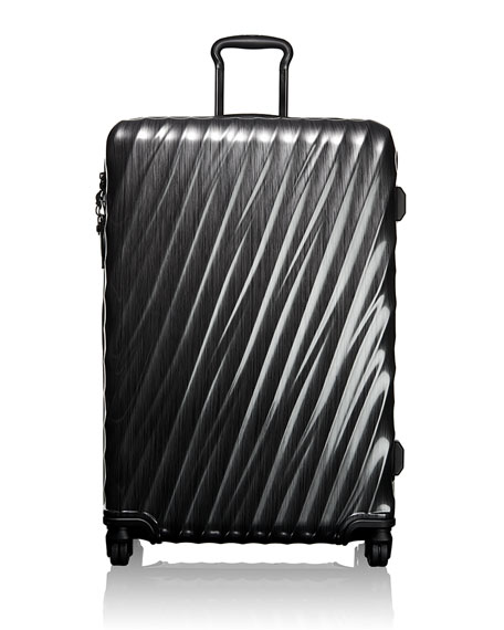 Black Extended-Trip Packing Case Luggage