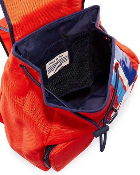 Soft Nylon Sport Backpack