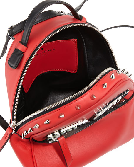 Micro Mick Eyes Backpack, Red