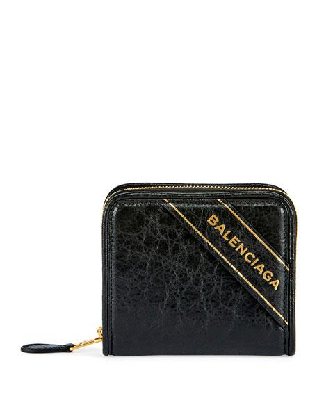 Blanket Arena Leather Billfold Wallet, Black