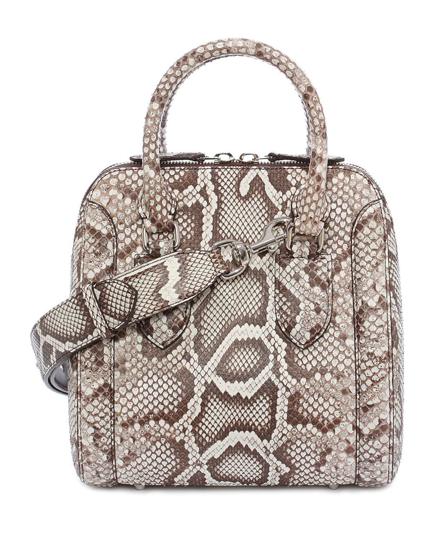 alexander mcqueen python bag