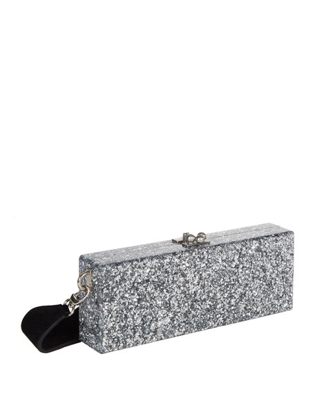 Flavia Box Clutch Bag
