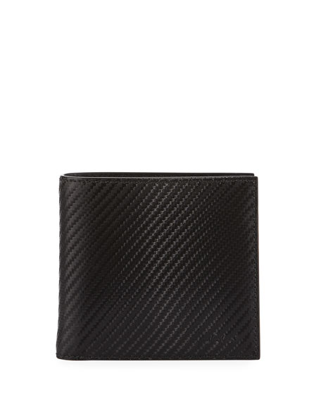 designer wallet with money clip jdg6  Bi-Fold Single Gusset Wallet, Black