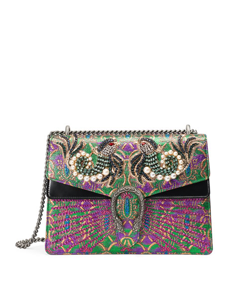 Gucci Dionysus Medium Brocade Shoulder Bag, Multi