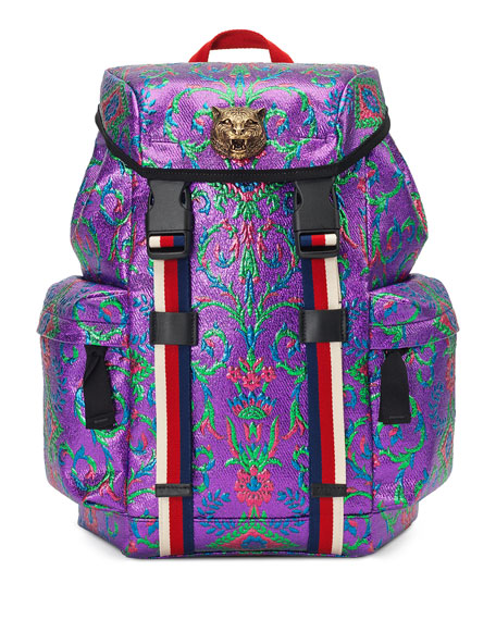 Techpack Brocade Backpack, Multi