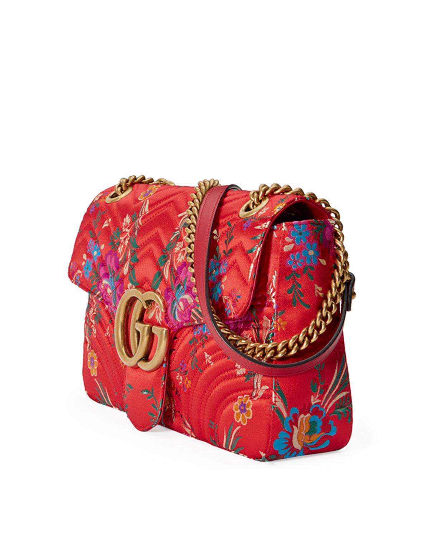 d0975f75420c Gucci GG Marmont Medium Jacquard Shoulder Bag | Neiman Marcus