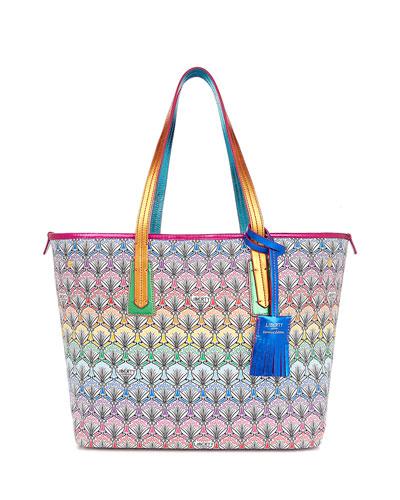179e32d18d876 Liberty London Little Marlborough Rainbow Tote Bag
