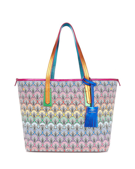 Logo Canvas Tote Bag | Neiman Marcus