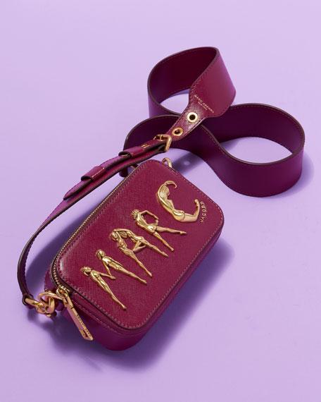 Snapshot Flashed Leather Camera Bag