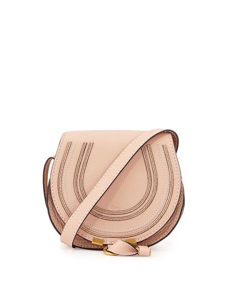Chloe Marcie Small Satchel Bag, Neutral
