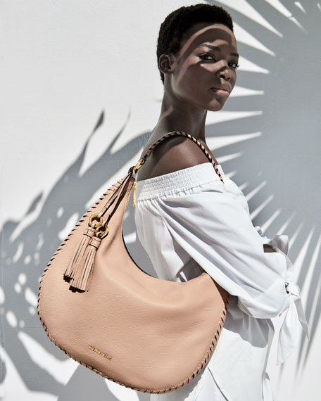 Lauryn Large Leather Shoulder Bag
