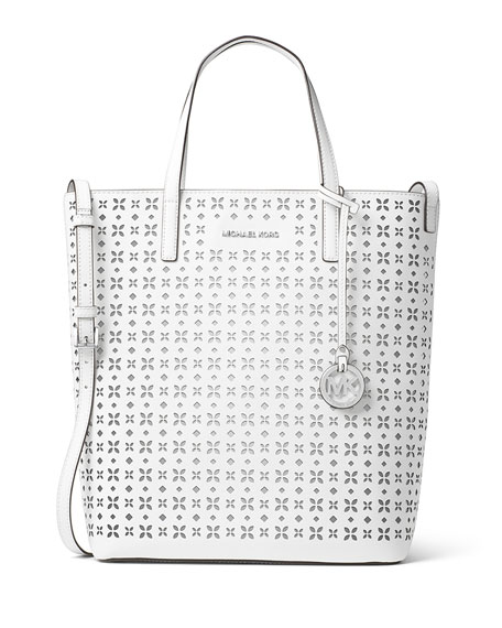 MICHAEL Michael Kors Hayley Large Top-Zip Leather Tote