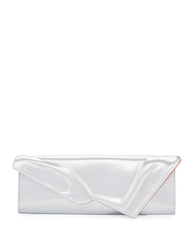 So Kate Specchio Baguette Clutch Bag, Silver