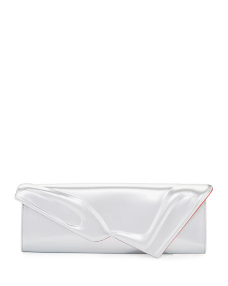 Christian Louboutin So Kate Specchio Baguette Clutch Bag