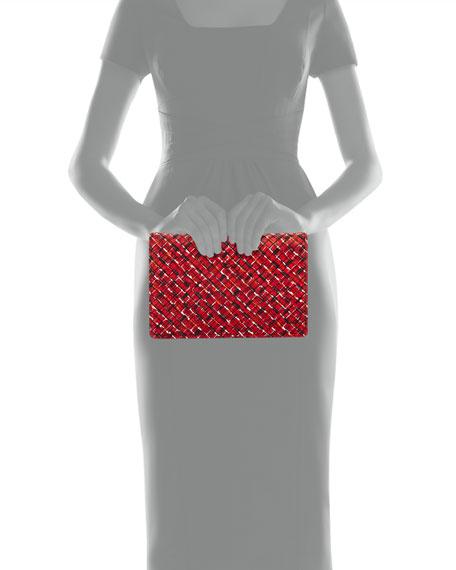 Splatter Full Flap Clutch Bag