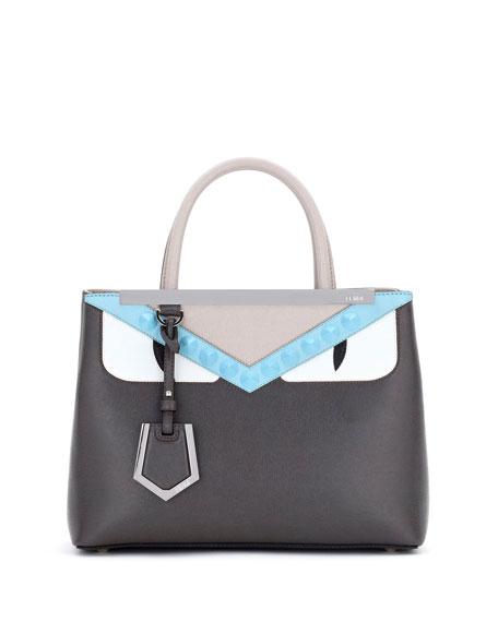 Fendi 2Jours Petite Monster Tote Bag, Multi