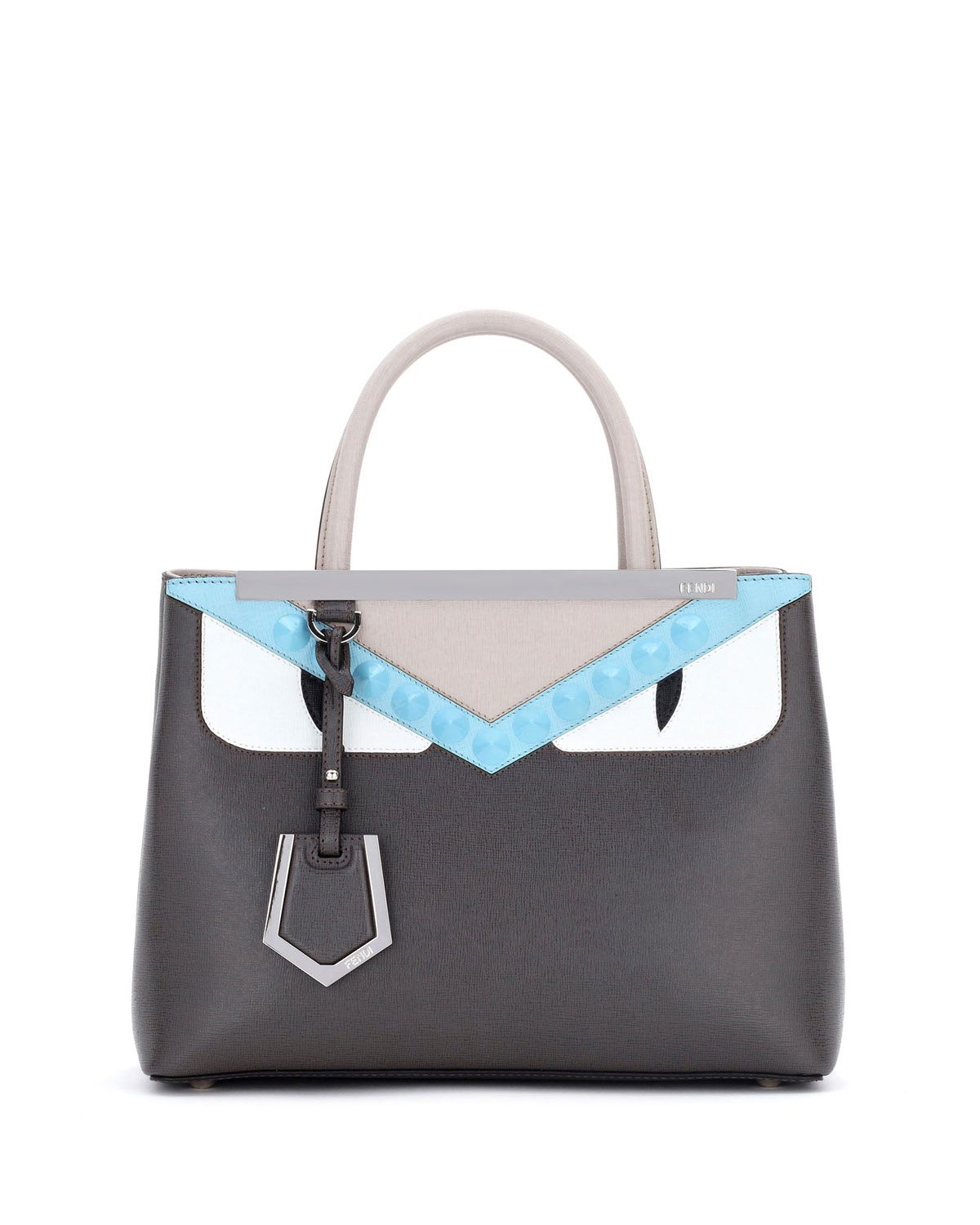 Fendi 2Jours Petite Monster Tote Bag 025100114be2d