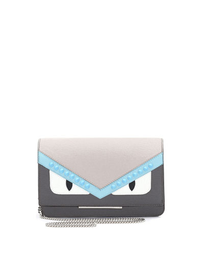 Monster Tube Wallet-on-Chain, Gray/Multi