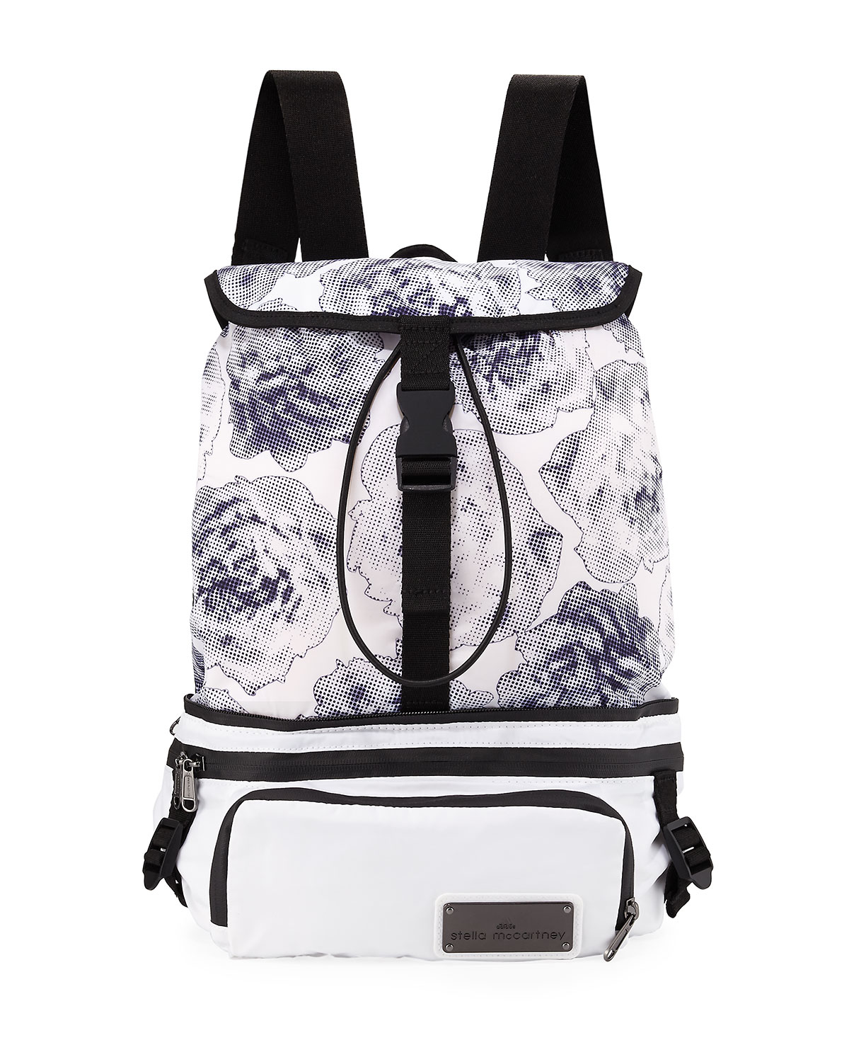 d5f3deeb2bef adidas by Stella McCartney Run Convertible Printed Backpack