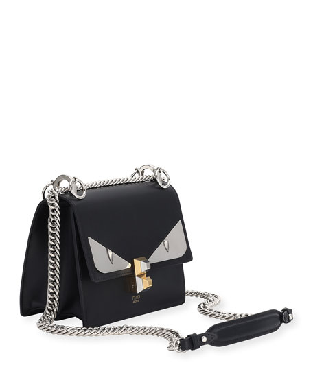 Image 2 of 2  Kan I Monster Mini Leather Shoulder Bag