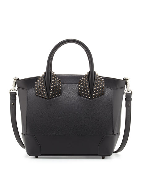 Christian Louboutin Eloise Large Leather Tote Bag, Black