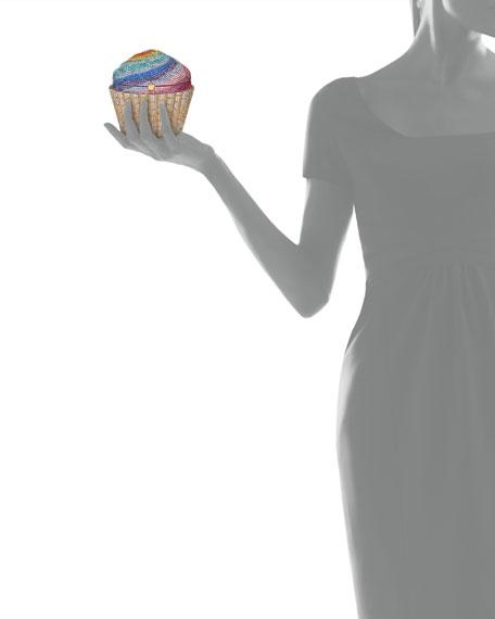 Cupcake Rainbow Clutch Bag, Multicolor