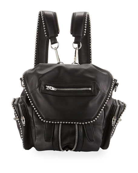 Alexander Wang Marti Mini Ball Studded Backpack